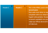jQuery web accordion