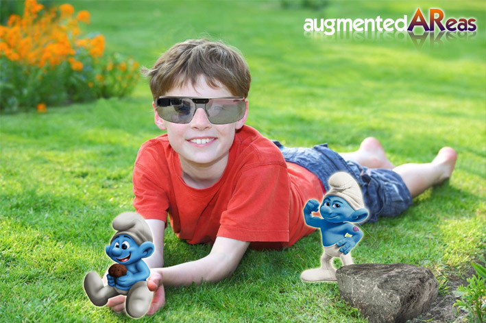Augmented Reality - Smurfs