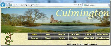 IE menu positioning