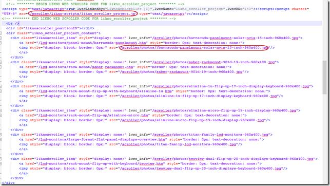 jquery slider code