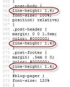 menu CSS properties