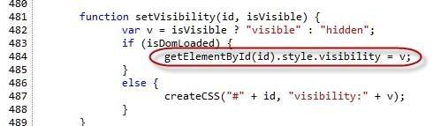 error in code