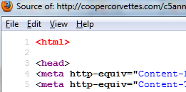 no DOCTYPE html