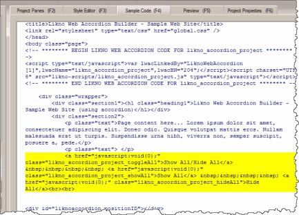 show all - Likno Blog - Drop-Down Menus, Javascript Menus