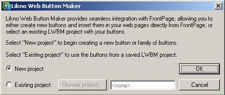 Web Button Maker FrontPage Addin