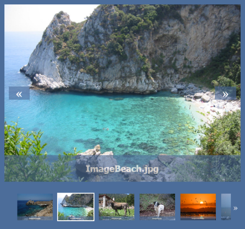 jquery scroller slider with image thumbnails