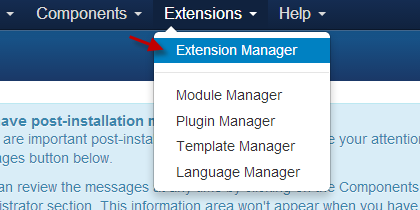 Joomla Accordion Extension Manager