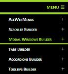 JavaScript responsive menu example two version 4