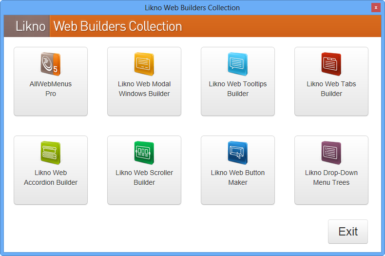 Likno Web Builders Collection 1.1.164 full
