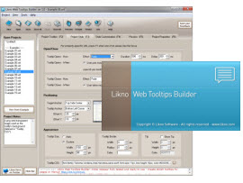 Likno Web Accordion Builder screenshots