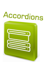 Likno Web Accordion Builder: Create jQuery accordions visually.