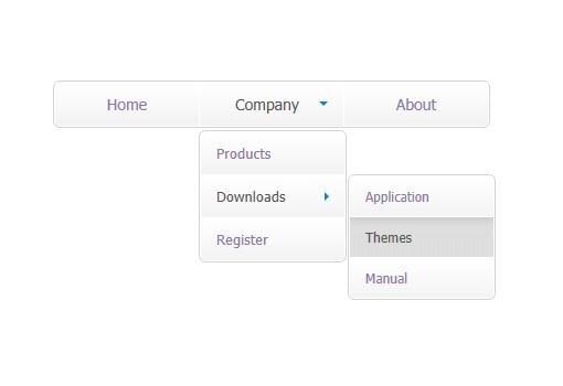 JavaScript Menu, DHTML Menu, Drop-Down Menu Builder  CSS menu